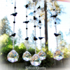 Blackbird Crystal Suncatcher