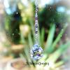 Amethyst Purple Ladybug Suncatcher