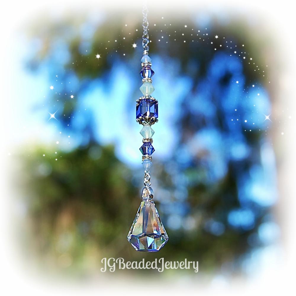 Swarovski Crystal Prism Raindrop Jg Beads