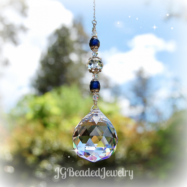 Mood Bead Crystal Suncatcher
