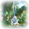 Blue Ombre Hanging Crystal Suncatcher