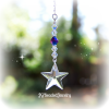 Glacier Blue Swarovski Crystal Star