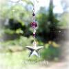 Purple Swarovski Crystal Star Suncatcher