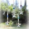 Blue Swarovski Crystal Star Ornament