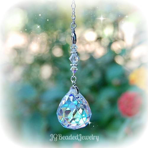 Hanging Prism Crystal Ball