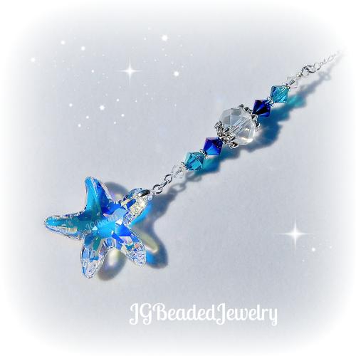 Swarovski Starfish Crystal Suncatcher