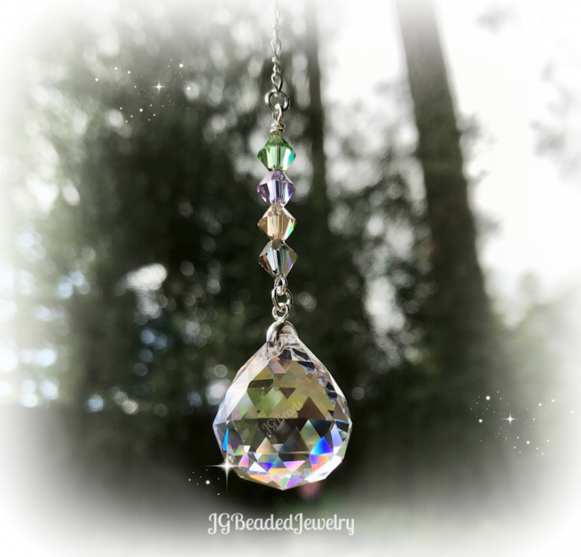 Hanging Crystal Suncatcher