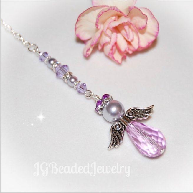 Purple Guardian Angel