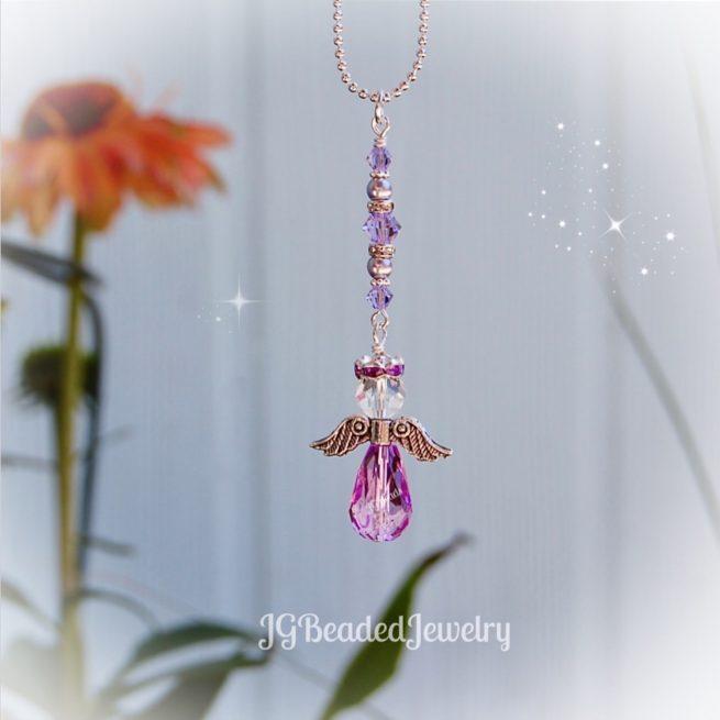 Violet Purple Guardian Angel