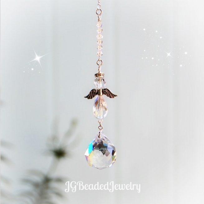 Angel Crystal Suncatcher