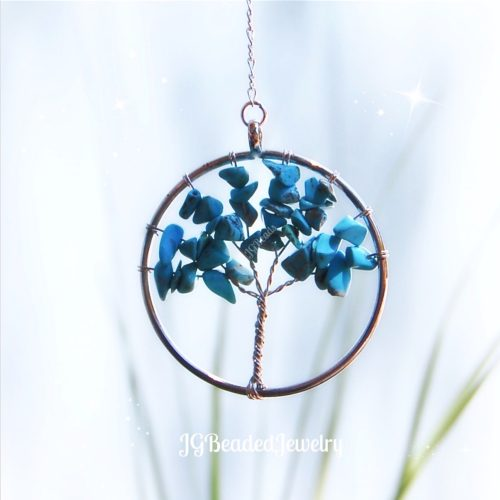 Turquoise Gemstone Tree of Life