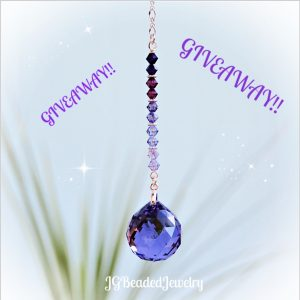 PURPLE OMBRE SUNCATCHER GIVEAWAY