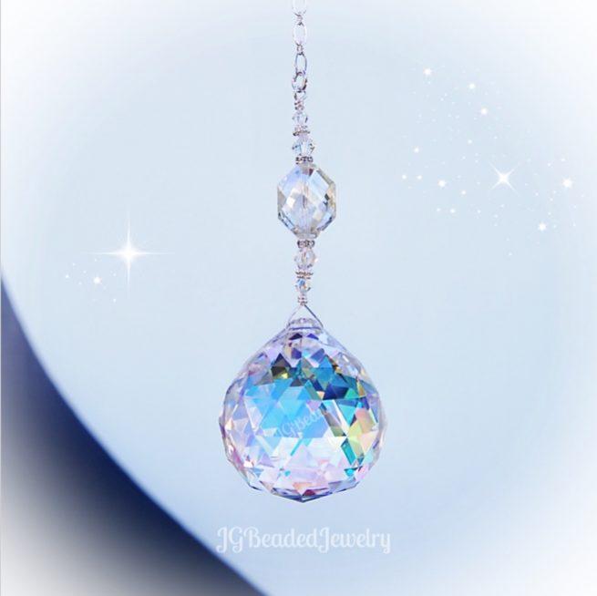 Rainbow Maker Crystal Suncatcher