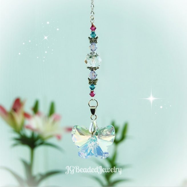 Hanging Butterfly Suncatcher