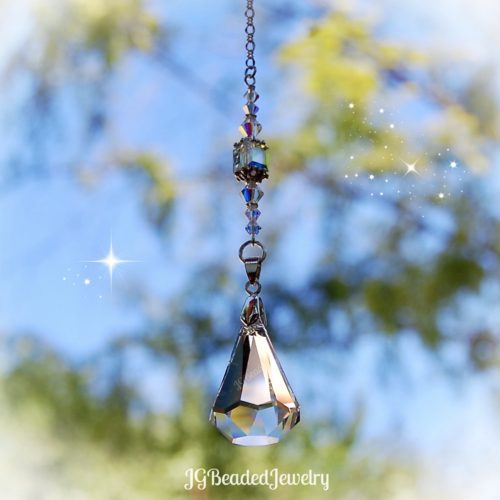 Swarovski Teardrop Crystal Suncatcher Prism