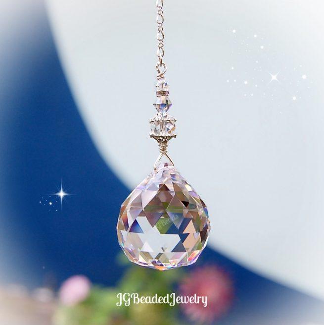 Prism Crystal Ball Suncatcher