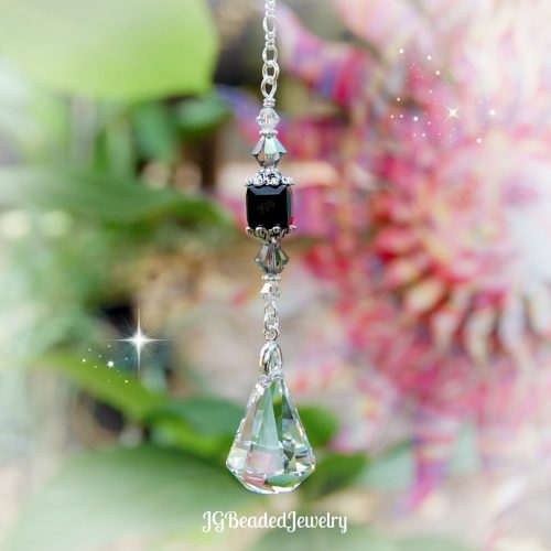 Black Diamond Swarovski Crystal Xirius Suncatcher Prism