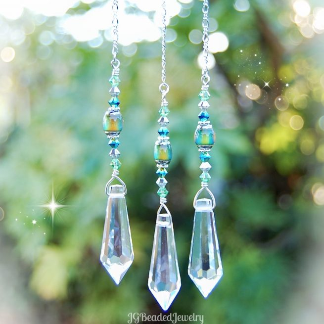Color Changing Crystal Suncatcher