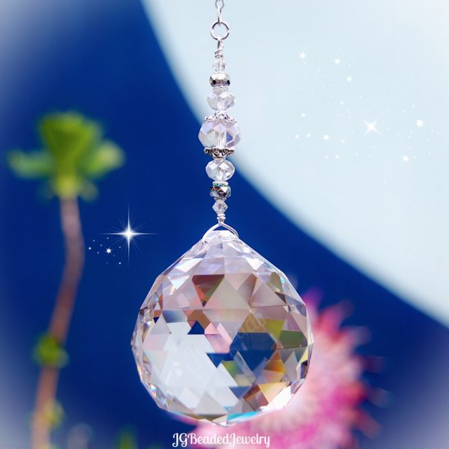 Crystal Suncatcher Rainbow Prism
