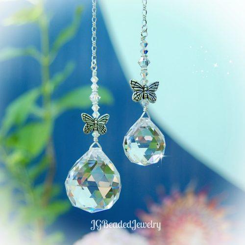 Butterfly Crystal Suncatcher Prism