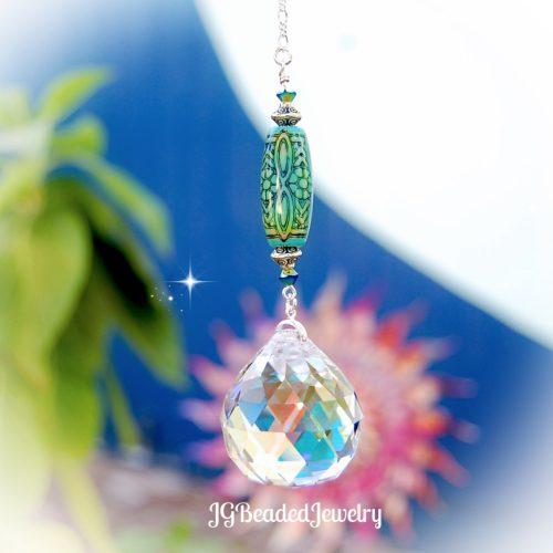 Color Changing Crystal Suncatcher