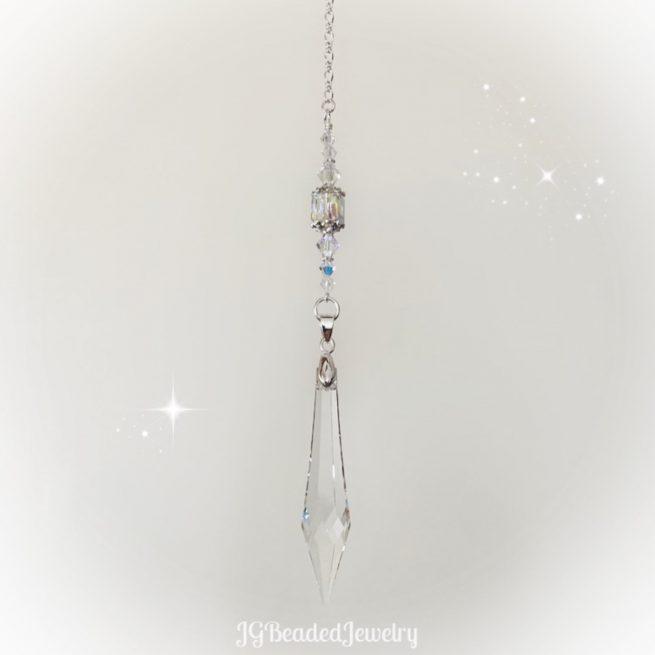 Icicle Swarovski Crystal Suncatcher