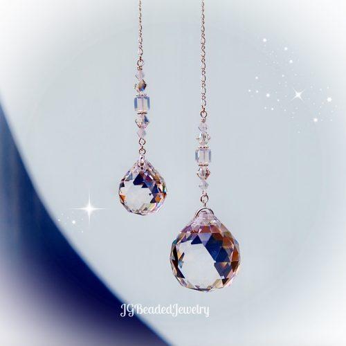 Opal Prism Crystal Suncatcher