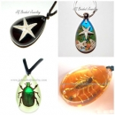 Bug Necklaces and Key Chains