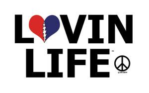 Lovin Life Grateful Dead Sticker