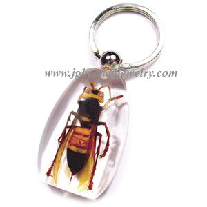 Yellow Jacket Keychain