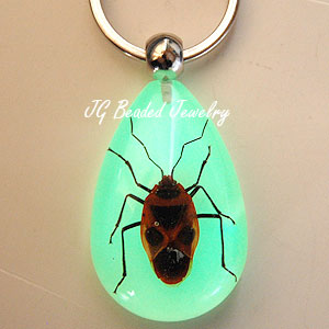 Stink Bug Glow Key Chain