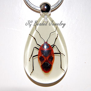 Stink Bug Glow Key Ring