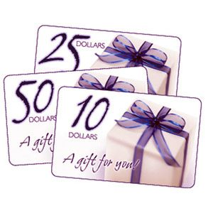 $50 Jewelry Gift Certificate