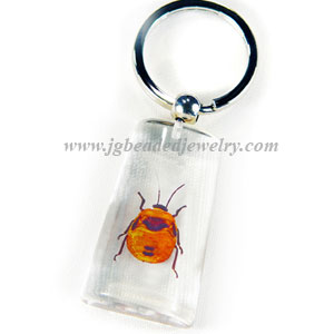 Flower Bug Key Chain